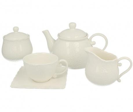 Piętnastoczęściowy zestaw do herbaty Fisher