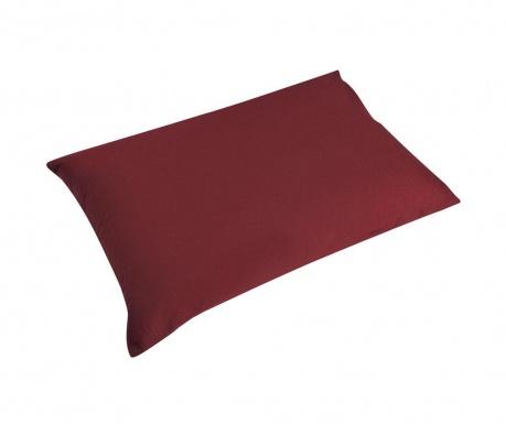 Комплект 2 калъфки за възглавница Percale Loryn Red Wine 50x70 см