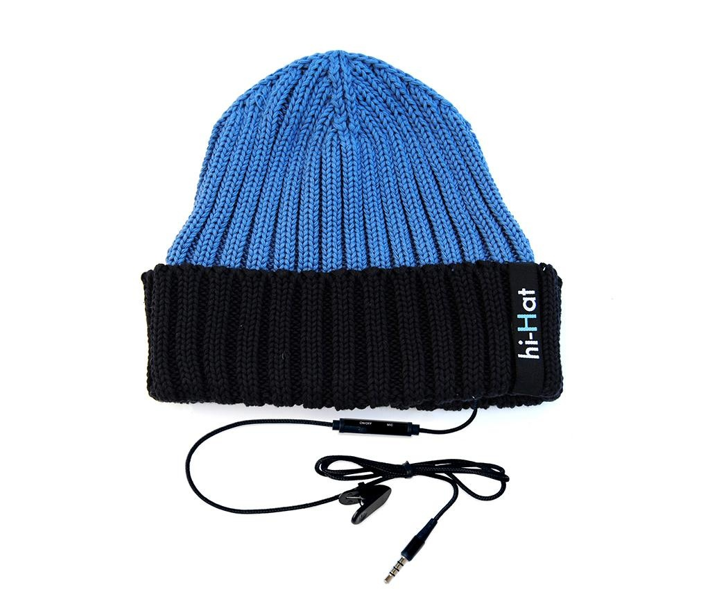 Čepice s integrovanými sluchátky hi-Hat Duo Blue