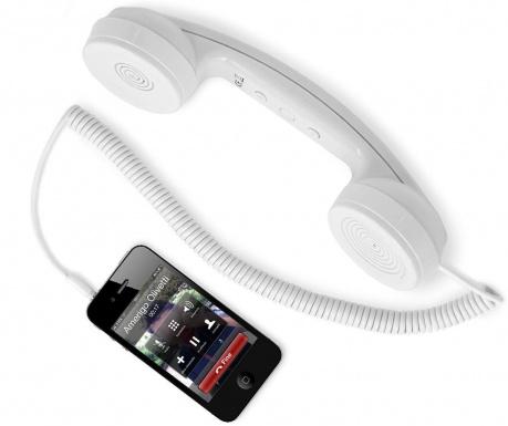 hi-Ring White Telefonkagyló
