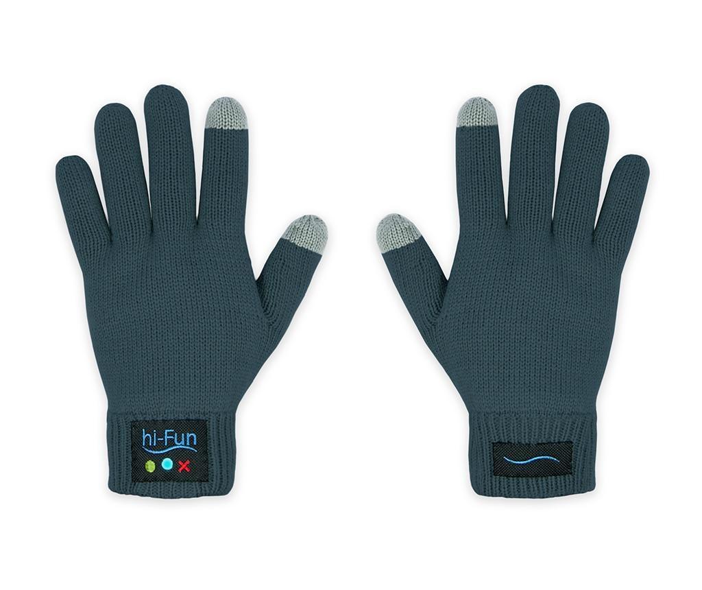 Dámske rukavice Smart hi-Call Knit Dark Grey