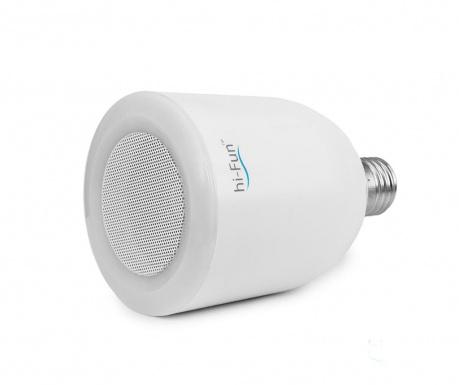hi-Music LED izzó hangszóróval E27