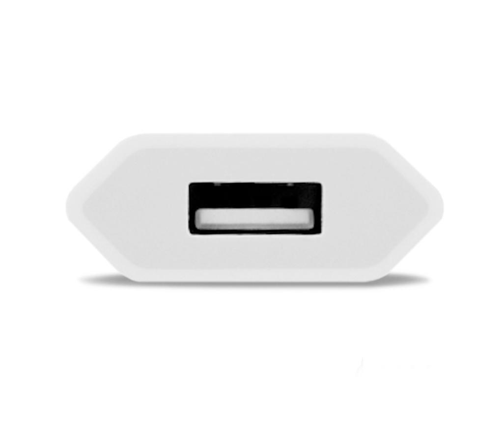 Adapter za utičnicu Mono USB White