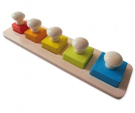 Gra typu puzzle 6 elementów Square