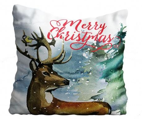 Perna decorativa Christmas Snow 43x43 cm