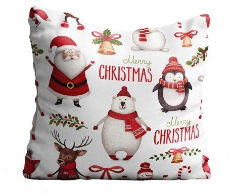 Perna decorativa Christmas Friends 43x43 cm