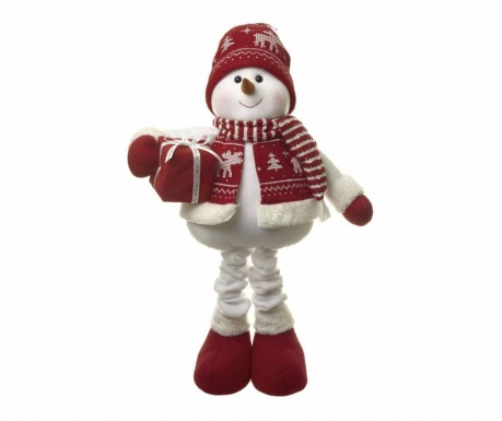 Decoratiune Snowman With Gift