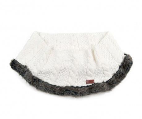 Fular circular Cleveland  White 20x120 cm