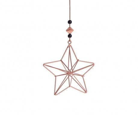 Decoratiune suspendabila Copper Star
