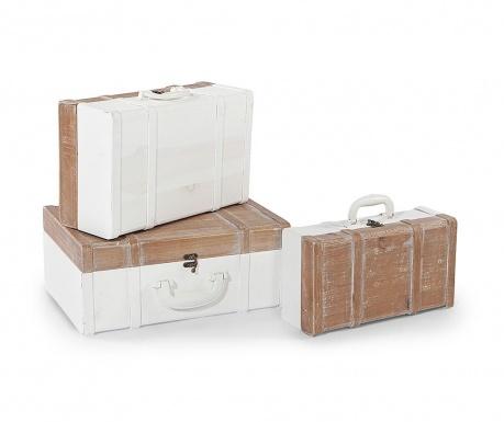 Delia 3 db Díszbőrönd