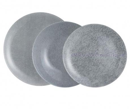 Stony Grey 18 darabos Étkészlet