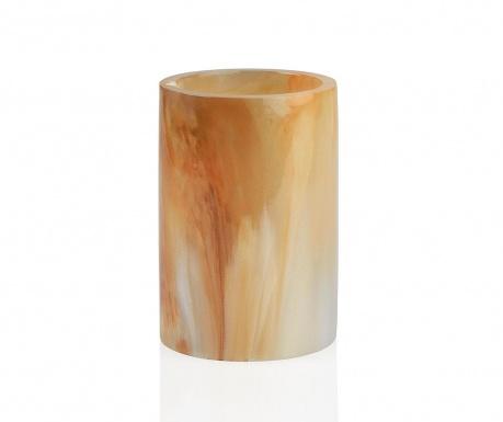 Marble Swirl Orange Fürdőszobai pohár