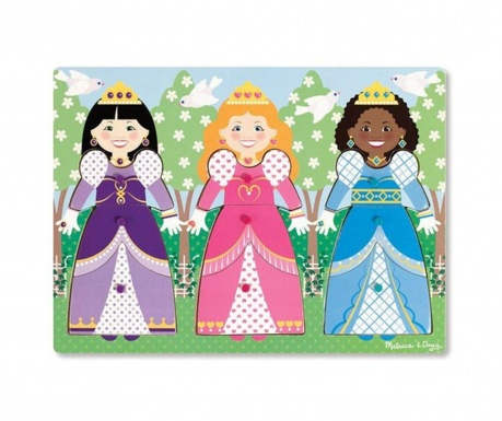 Gra typu puzzle 10 elementów Princess