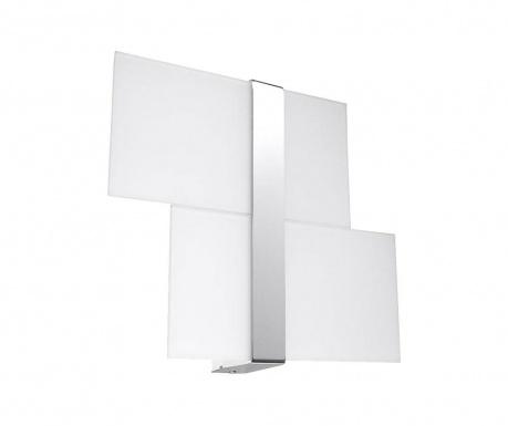 Zidna svjetiljka Leda Duo Silver Grey
