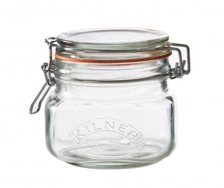 Clip Top Diff Befőttesüveg hermetikus fedővel 500 ml