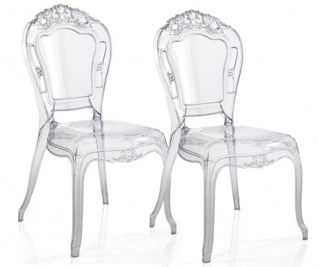 Sada 2 židlí Monaco