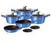 Zestaw 10 naczyń do gotowania Royal Blue