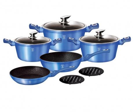 Zestaw naczyń do gotowania 10 części Royal Blue