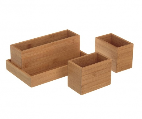 Комплект 3 кутии и поставка Mia Casa