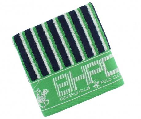 Ręcznik kąpielowy Stripes Blue & Green 50x100 cm