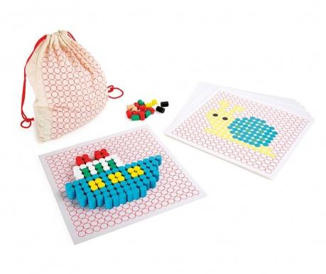 Gra konstrukcyjna 445 elementów Colourful Motif