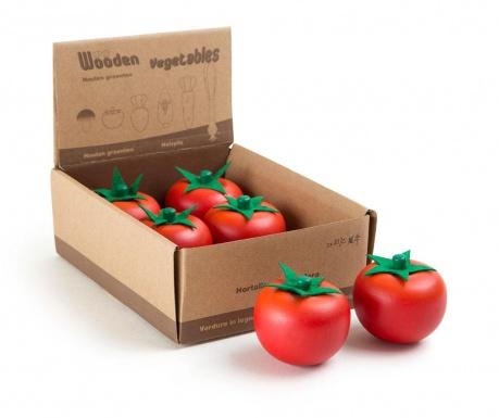 Zestaw 6 zabawkowych warzyw Tomato