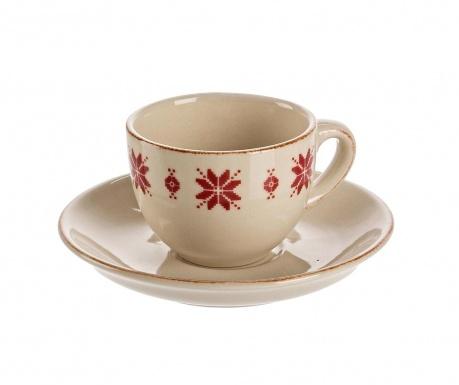Sada šálek s podšálkem Tirol Espresso