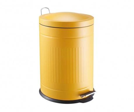 Kanta za smeće s poklopcem i pedalom Step Yellow 20 L