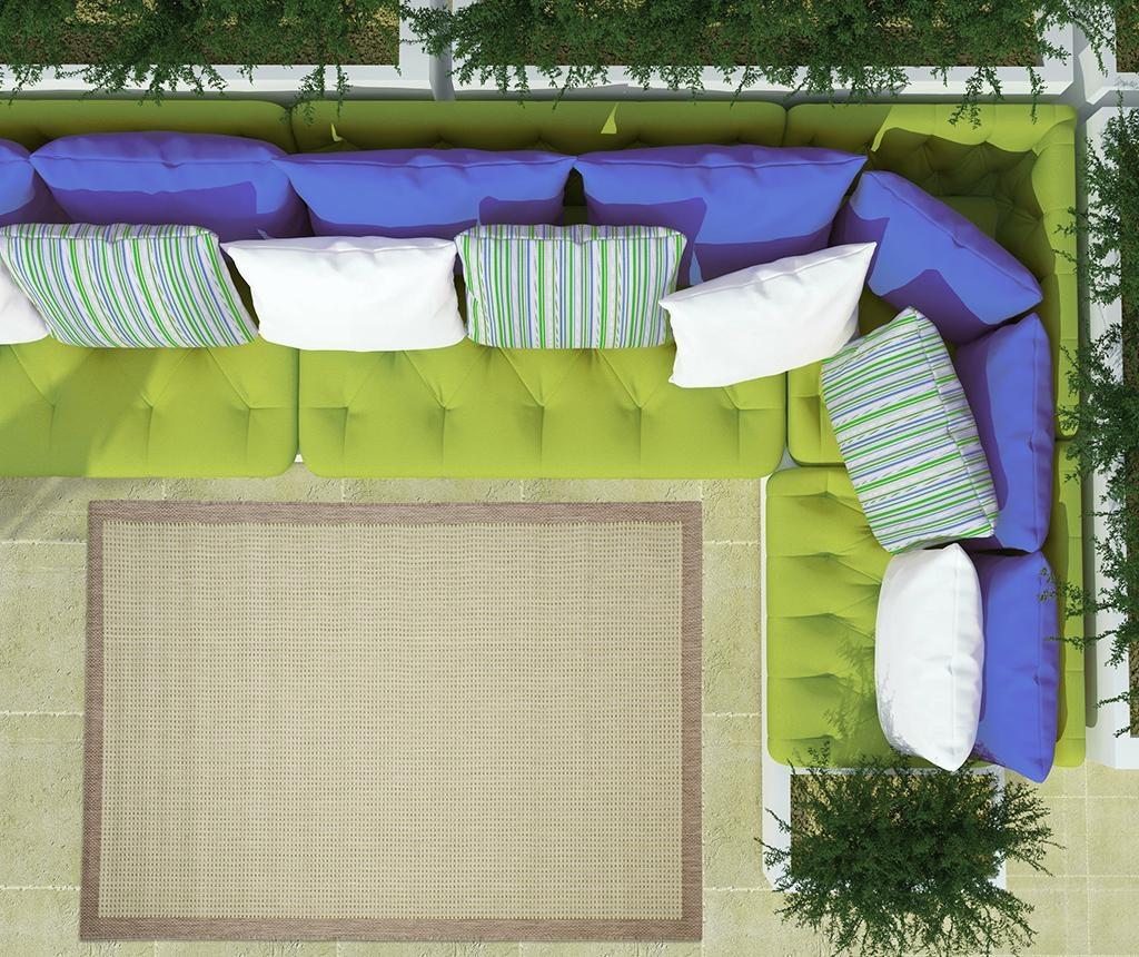 Tepih Chrome Green 135x190 cm