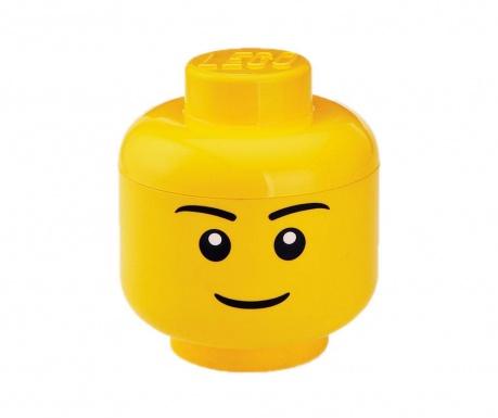 Кутия с капак Lego Boy Head