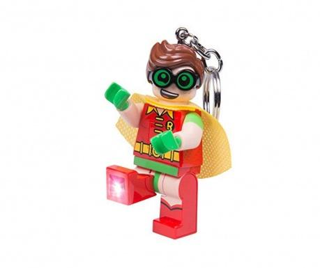 Obesek za ključe z lučko Lego Robin