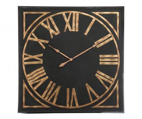 Ceas de perete Numerals Black Brown