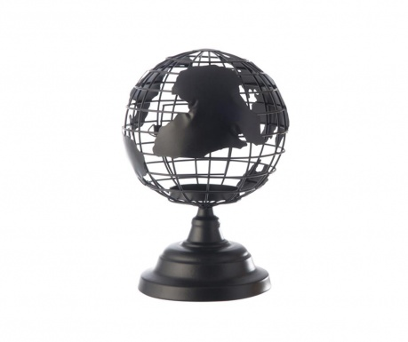 Suport pentru lumanare Globe Black