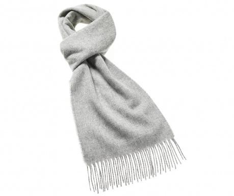 Szalik Plain Slim Silver 25x190 cm