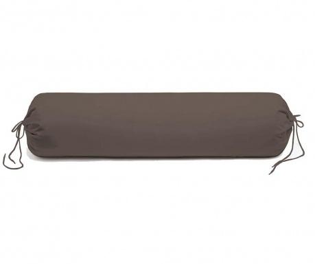 Povlak na polštář Satin Saty Taupe Grey 25x90 cm