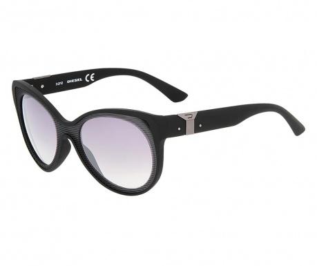 Diesel Black Oval Női napszemüveg