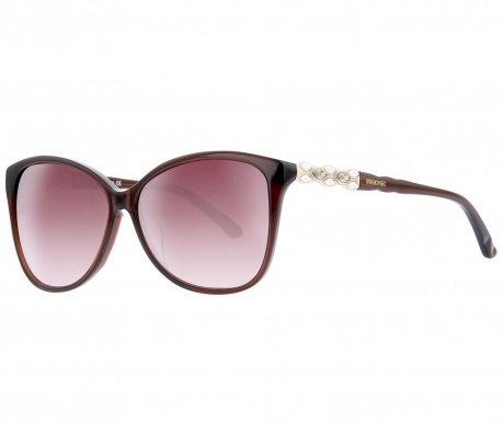 Swarovski Rectangular Brown Női napszemüveg