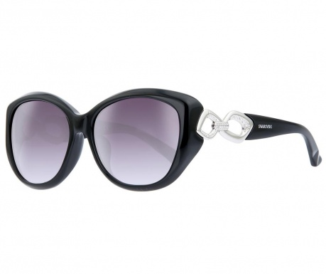 Swarovski Evio Rectangular Black Női napszemüveg
