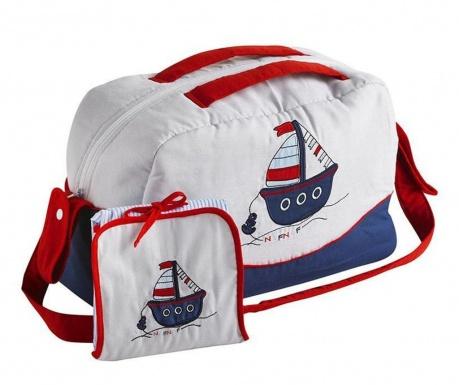 Set torba i sklopiva podloga za mijenjanje pelena Boat