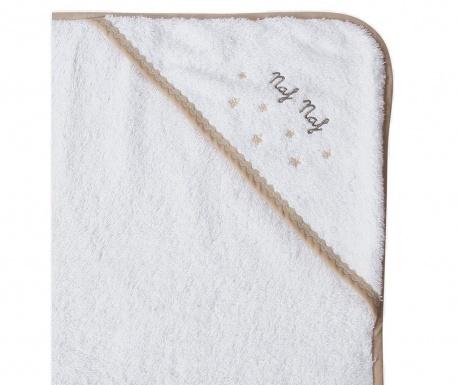 Kupaonski ručnik s kapuljačom Stars 100x100 cm