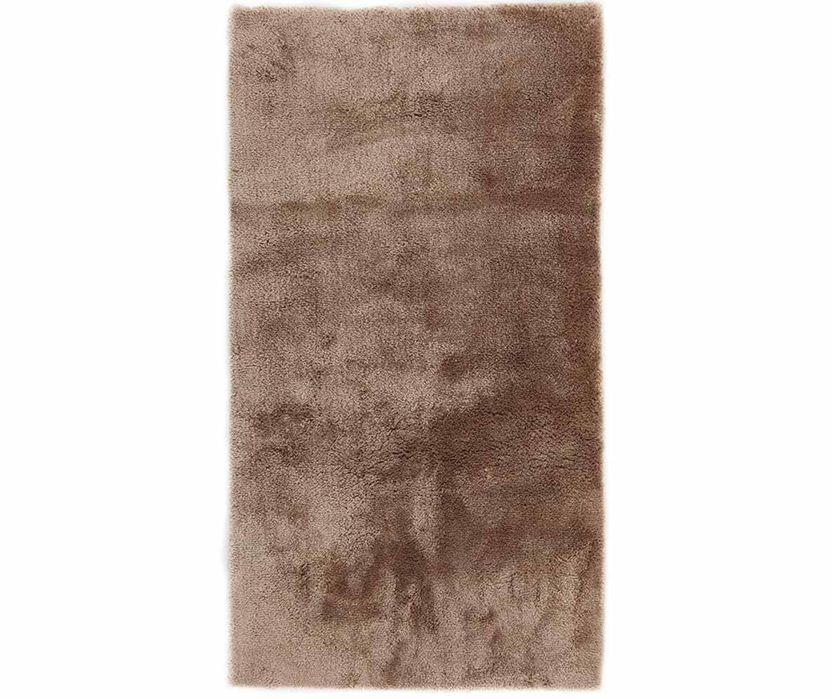 Covor Shaggy Extra Soft Brown 80x150 Cm - Viva, Maro
