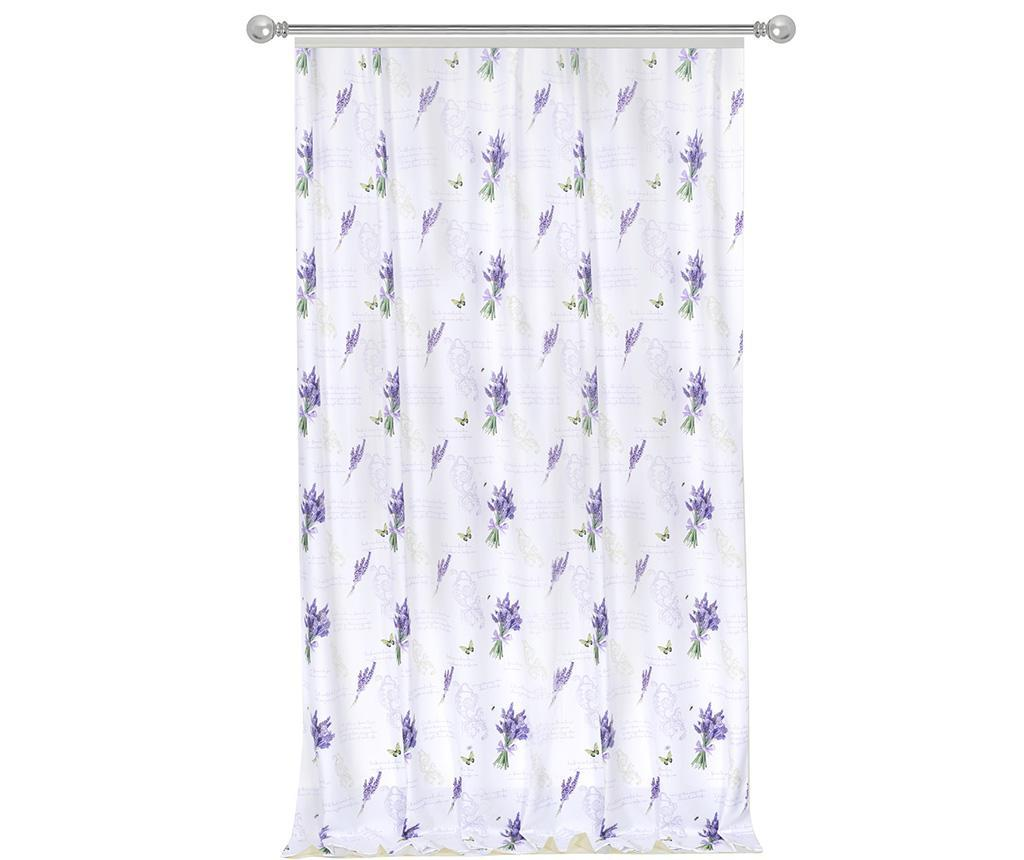 Draperie Lavender 140x270 cm - MIKE&Co, Alb