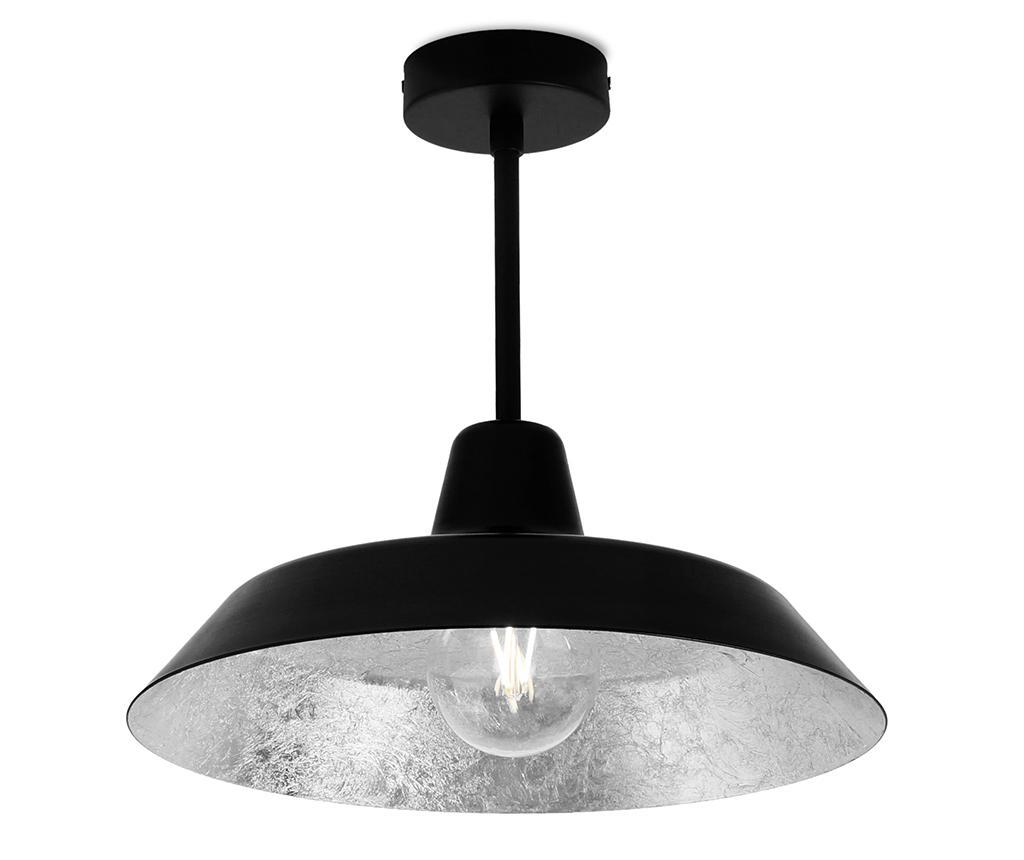 Lustra Cinco Black Silver - Bulb Attack, Negru