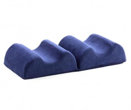 Dvojitý ergonomický polštář na nohy Wellness