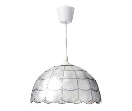 Závěsná lampa Crema Shell