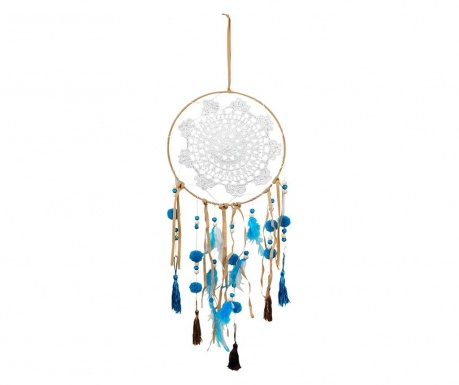 Decoratiune suspendabila Dream Catcher Blue