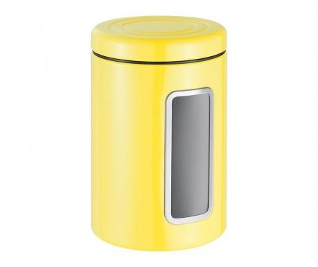 Pojemnik z pokrywką Classic Line Yellow