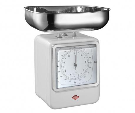 Waga kuchenna z zegarem Zadie White