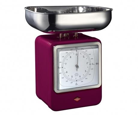 Waga kuchenna z zegarem Zadie Purple