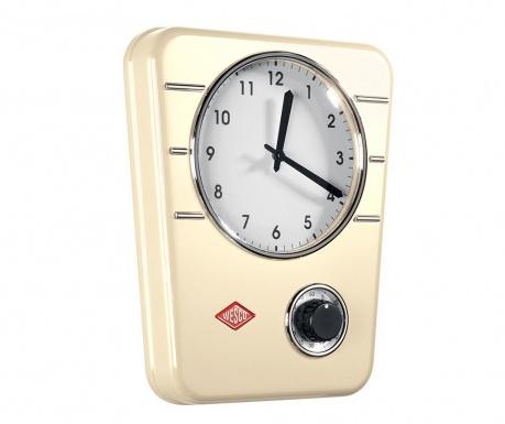 Nástěnné hodiny Classic Almond